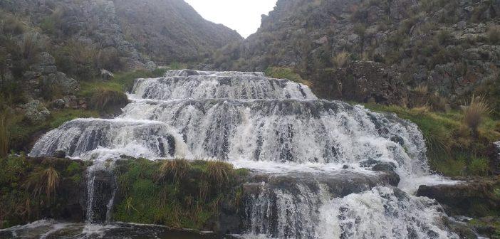 La catarata de Paliza en Lucanamarca